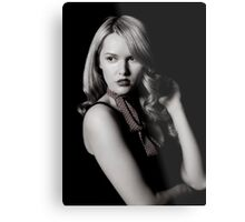 Low Key Carla Metal Print
