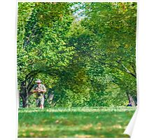 Man on the Mall Poster