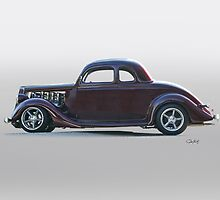 1935 Ford 'Five-Window' Coupe by DaveKoontz