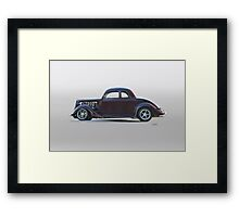 1935 Ford 'Five-Window' Coupe Framed Print
