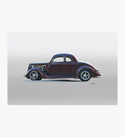 1935 Ford 'Five-Window' Coupe Photographic Print