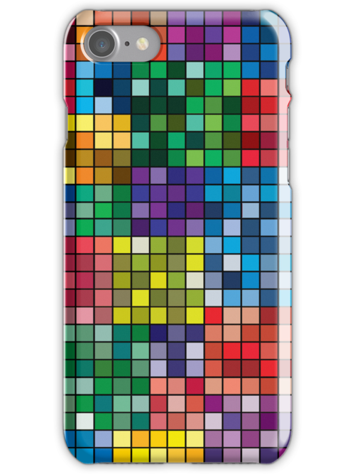 Patchwork iPhone case by bradwoodgate