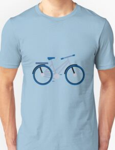 Blue Bike Unisex T-Shirt