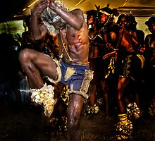 The Warrior Dance by RonelBroderick