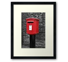 Kilburn Postbox Framed Print