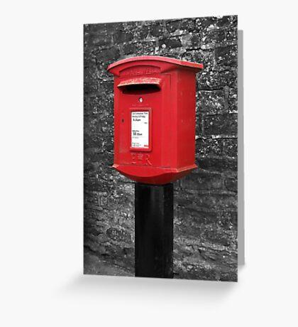 Kilburn Postbox Greeting Card