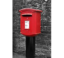 Kilburn Postbox Photographic Print