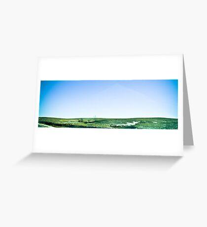 plains Greeting Card