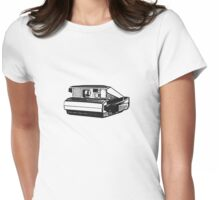 old school camera funny tee  Womens Fitted T-Shirt