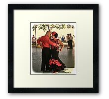 Flamenco Dance Framed Print