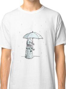 Dalek in the Rain Classic T-Shirt