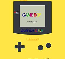 Gameboy Color (Yellow) by Gow19