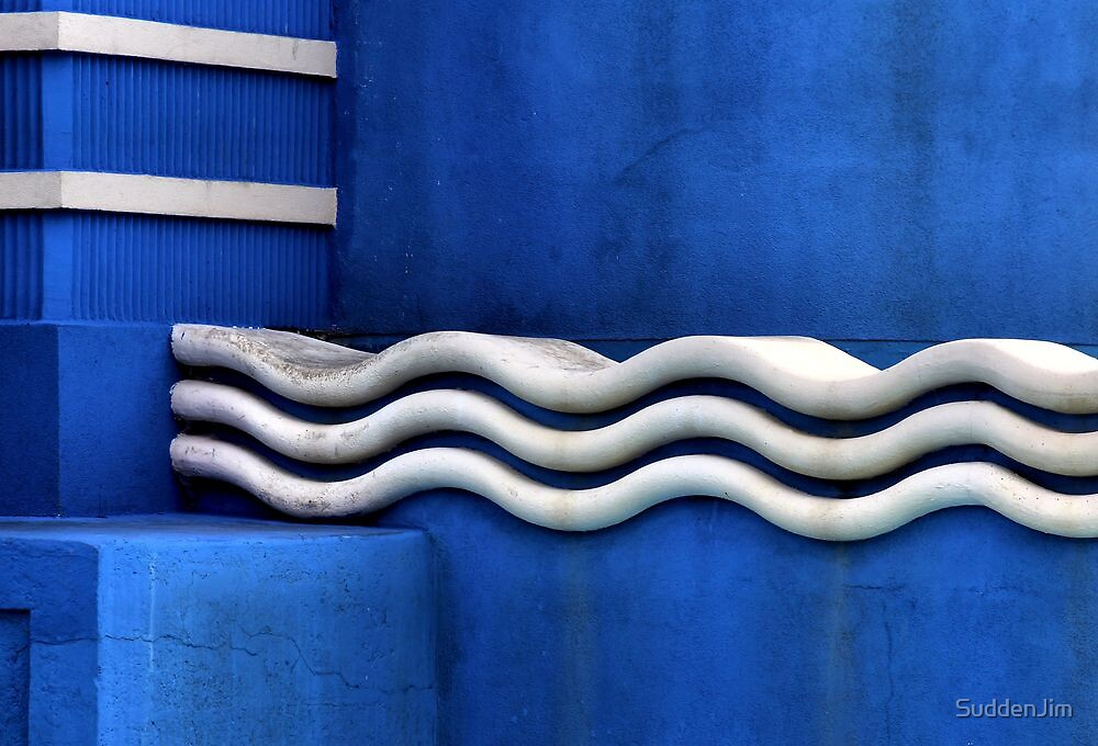 Ripples With Blue by SuddenJim