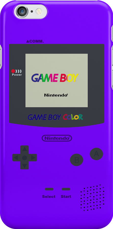 Gameboy Color (Purple) by Gow19