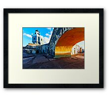 Lighthouse  in Fort El Morro Framed Print