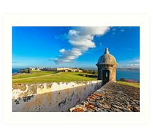 View of Old San Juan From The El Morro Art Print
