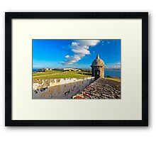 View of Old San Juan From The El Morro Framed Print