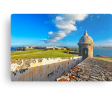 View of Old San Juan From The El Morro Metal Print