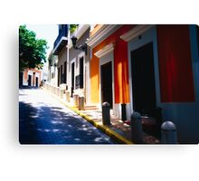 Calle De Sol Canvas Print