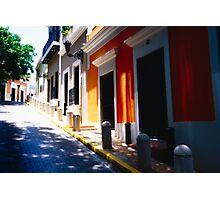 Calle De Sol Photographic Print