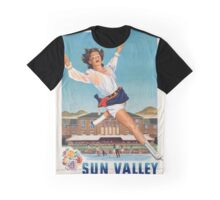 Vintage poster - Sun Valley Graphic T-Shirt