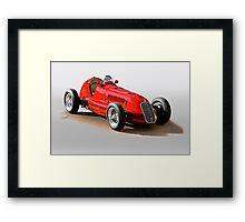 1939 Maserati 8CTF Racer Framed Print