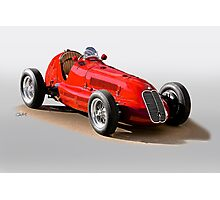 1939 Maserati 8CTF Racer Photographic Print