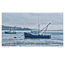 Downeast Draggers Photographic Print