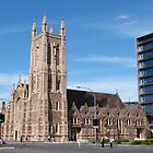 &#x27;St. Francis Xcaviour Cathedral,&#x27; Victoria Square, Adelaide City.S.A. by Rita Blom