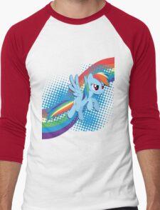 Rainbow DASH! Men's Baseball ¾ T-Shirt