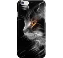 Cat By Night iPhone Case/Skin
