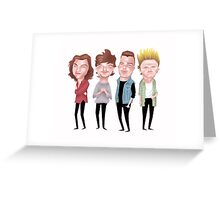 Boy Band - Dne Oirection Greeting Card