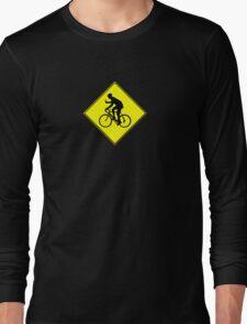 Beer Bike Crossing Long Sleeve T-Shirt