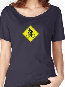 Beer Bike Crossing Women's Relaxed Fit T-Shirt