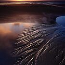 Sand Trails on Godfreys Beach by Garth Smith