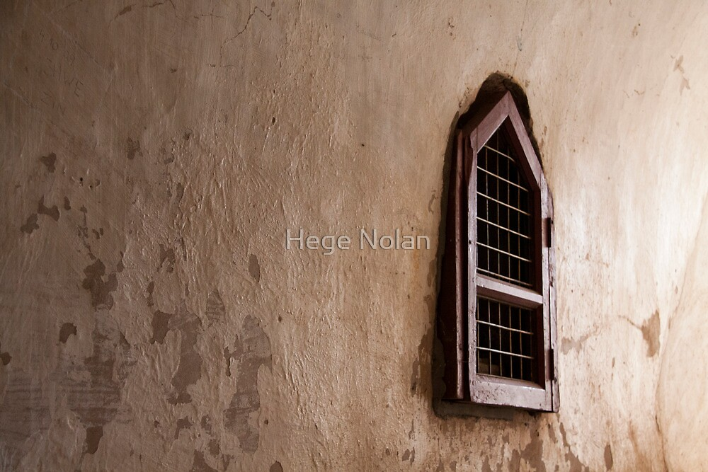 Bagan temple window by Hege Nolan