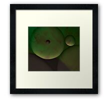 Mint chocolate Framed Print