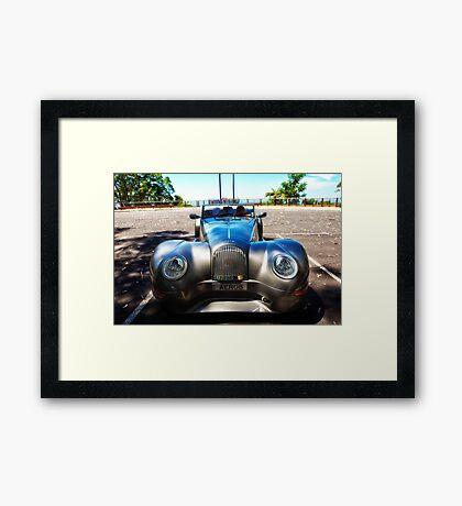 Morgan Areo 8 Sports Car Framed Print