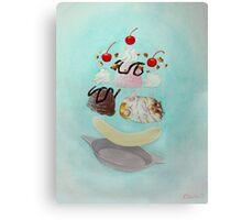 Hamster Sundae! Canvas Print