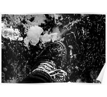 Snowy Shoe Poster