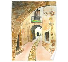 Stone Archway Poster