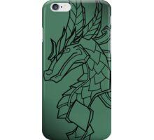 Minimal Jade Dragon iPhone Case/Skin