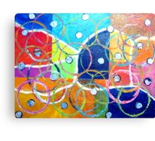 Messy Games Canvas Print