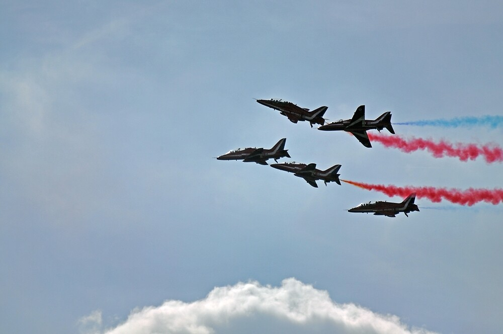 Red Arrows - Chatsworth Game Fair by Chris Monks