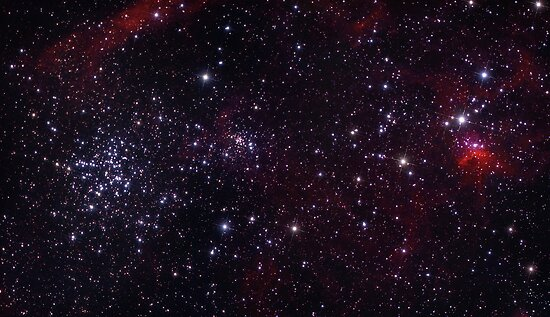 M38 and IC417  by astrochuck