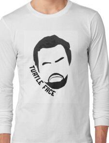 Turtle Face - Nick Miller NEW GIRL Long Sleeve T-Shirt