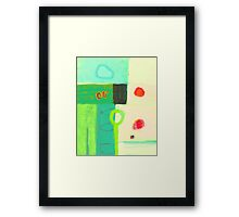 Sunrise after a cold spring night Framed Print