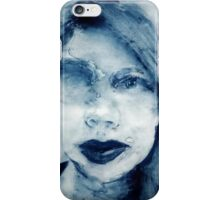 Christina Blue 1 iPhone Case/Skin