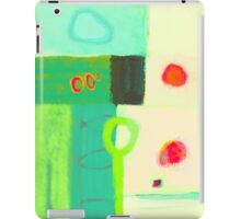 Sunrise after a cold spring night iPad Case/Skin