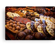 Chocolat Canvas Print